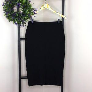Sanctuary Black Pencil Skirt